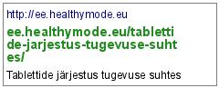 http://ee.healthymode.eu/tablettide-jarjestus-tugevuse-suhtes/